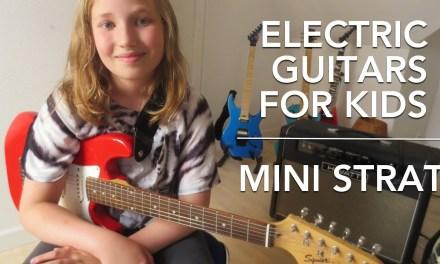 Electric Guitars For Kids #2 – Squier Mini Strat