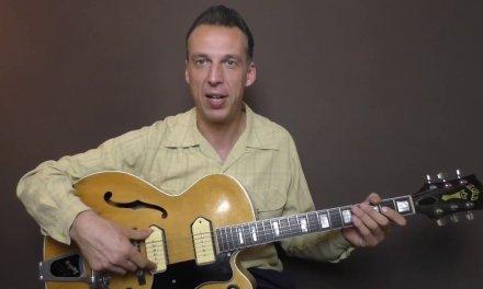 Rockabilly Guitar Lesson – Johnny Carroll – Why Cry