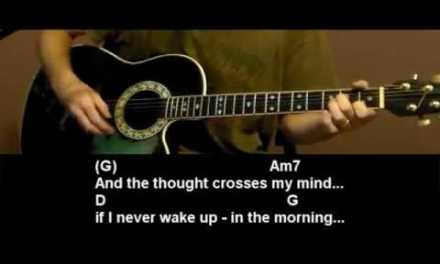 How to play If Tomorrow Never Comes by Garth Brooks – Guitar Lesson Tutorial
