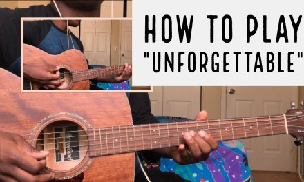 French Montana – Unforgettable – Guitar Cover/Tutorial (Tabs)