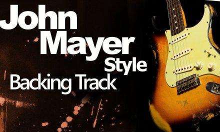 Ballad John Mayer Style Guitar Jam Track 79 Bpm D