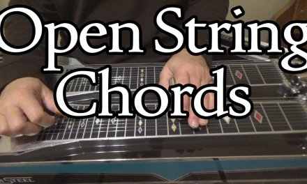 Open String Chords | Pedal Steel Guitar Lesson