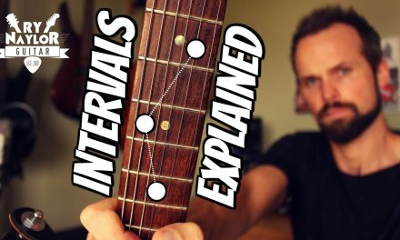 Guitar Intervals Explained – Guitar Theory Lesson 1
