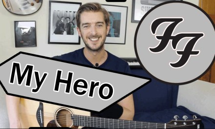 My Hero – Foo Fighters Guitar Lesson Tutorial – How to play