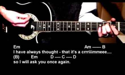 We Can Work It Out Guitar Lesson – The Beatles