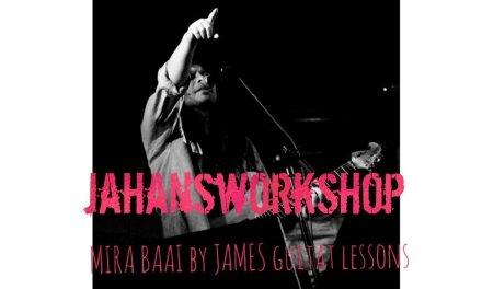 MIRA BAAI – NAGARBAUL by JAMES GUITAR LESSON SOLO & CHORDS