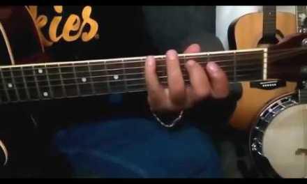 Acoustic Guitar Tutorial   Neele Neele Ambar pe from Movie Kalakar