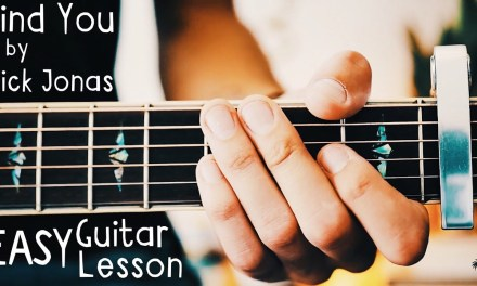 Find You Guitar Lesson for Beginners by Nick Jonas // Find You Guitar Tutorial