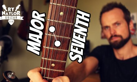 Major 7th Interval on Guitar – Intervals Guitar Lesson (Guitar Theory)
