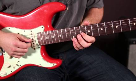 Blues Rock Guitar Solos – Blues Rock Licks Guitar Lesson – Fender Strat