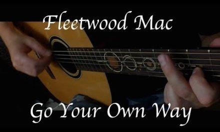 Fleetwood Mac – Go Your Own Way – Fingerstyle Guitar