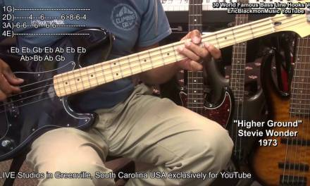 30 World Famous MUST KNOW Bass Guitar Riffs WIth TABS With Eric Blackmon EEMusicLIVE