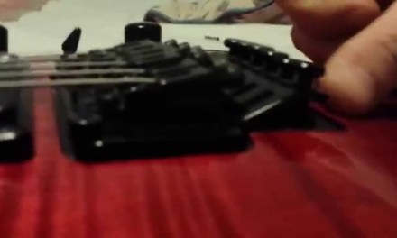 How to set up a Floyd Rose Tremolo.