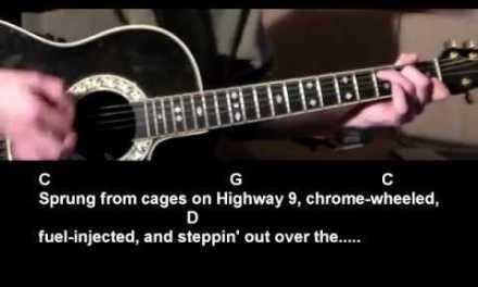 Born To Run  Bruce Springsteen Easy Guitar Lesson