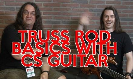 Truss Rod Basics with CS GUITAR | SpectreSoundStudios TUTORIAL