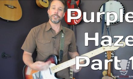How To Play Purple Haze By Jimi Hendrix – Guitar Lesson – Part 1