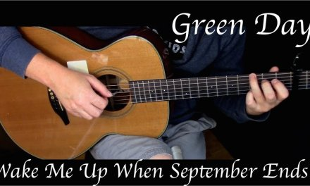 Green Day – Wake Me Up When September Ends – Fingerstyle Guitar