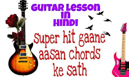 Hindi guitar lesson/gulabi aankhe guitar lesson