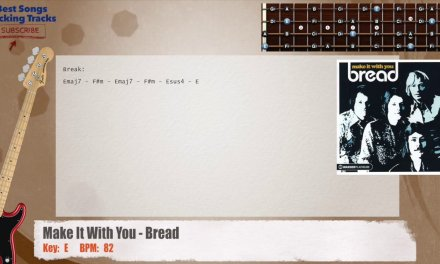Make It With You – Bread Bass Backing Track with chords and lyrics
