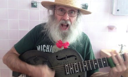 Pink Bathroom Blues In Open D Tuning. Messiahsez Spreads Love & His Son Sees It 3 Times. Love Wins!!