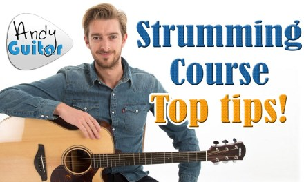 Strumming Techniques For Acoustic Guitar – Strumming Tutorial #3
