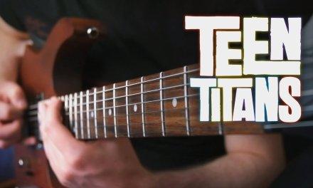 Teen Titans Theme on Guitar