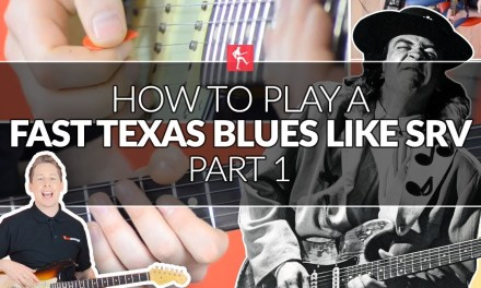 How To Play Texas Blues Guitar Like Stevie Ray Vaughan (Part 1)  – SRV Lead Guitar Lesson