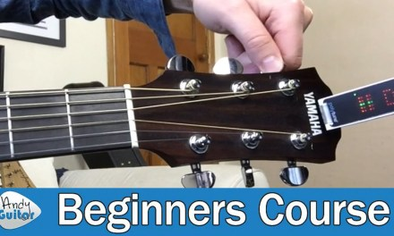 How to Tune A Guitar for Beginners (Guitar Basics – Lesson 4)