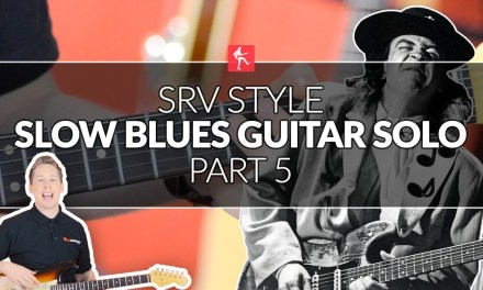 Stevie Ray Vaughan Style Blues Guitar Solo (Part 5) – SRV Guitar Lesson