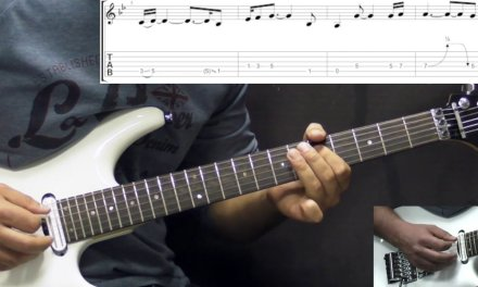 Gary Moore – The Loner – Rock Ballad – (PART 1) Guitar Lesson (w/Tabs)