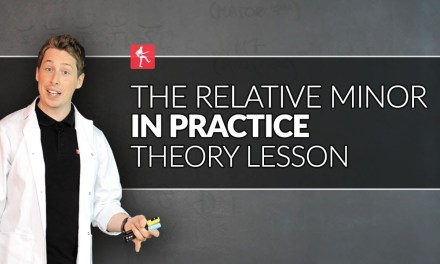 The Relative Minor Scale In Practice – Guitar Theory Lesson