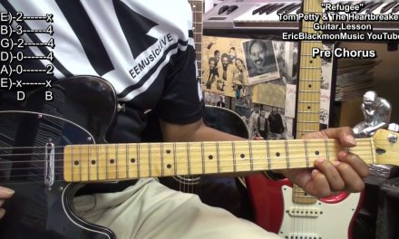 REFUGEE Tom Petty & The Heartbreakers Tribute Guitar Lesson EricBlackmonGuitar EEMusicLIVE