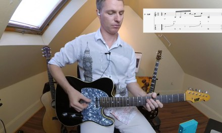 Funk Lead Techniques-Playing without a Pick for Better, Funkier Feel