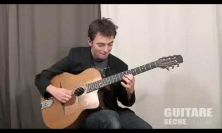 """Gypsy guitar lesson """"all of me"""""""