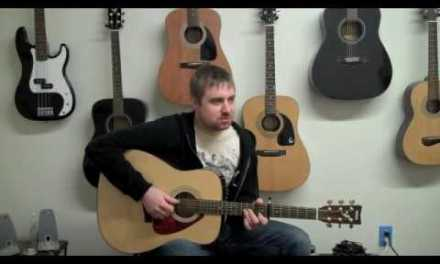 Learn How to Play: Such Great Heights – Iron and Wine – NYC Guitar School Lesson