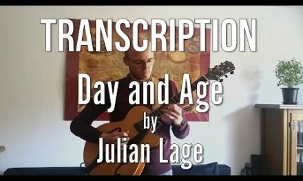 Day and Age by Julian Lage (TAB + SHEET MUSIC)