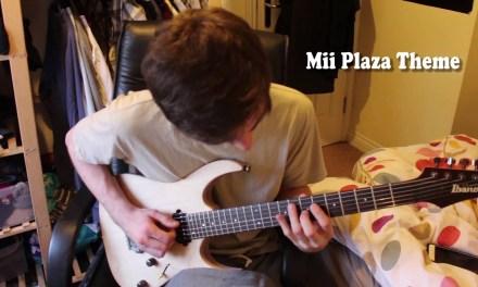 Nintendo Wii Mii Plaza Theme (Guitar Cover) w/Tabs