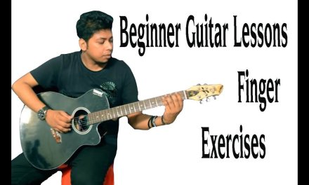 Beginner Guitar Lessons Finger Exercises 9