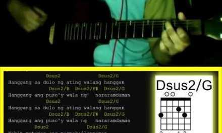 Sa Ngalan Ng Pag-ibig by December Avenue – Guitar Chords with Strumming Pattern