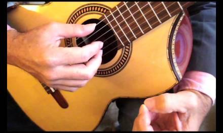 Classical guitar technique, Carlevaro technique on the Right Hand