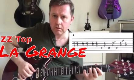 ZZ Top – La Grange – Guitar Lesson (Guitar Tab)