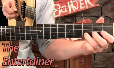 "Learn to Play ""The Entertainer"" on Guitar!"