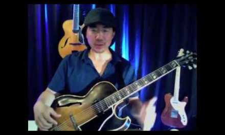 """""""Don't Get Around Much Anymore"""" for Easy Solo Jazz Guitar"""