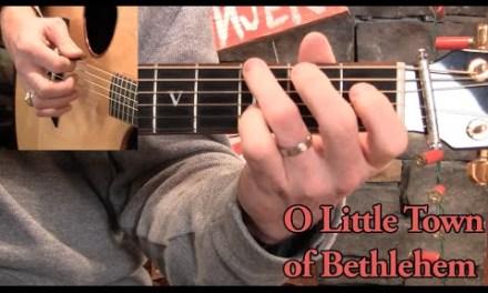 O Little Town of Bethlehem Guitar Lesson