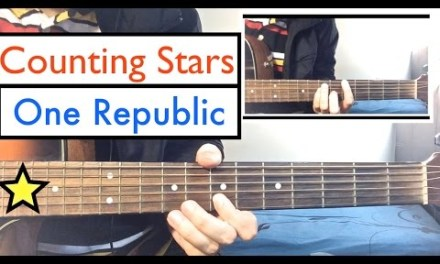 One Republic – Counting Stars | Guitar Tutorial Lesson