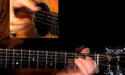Blues Guitar Lesson 1b – Fingerstyle Blues Handbook – David Hamburger