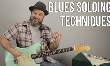 Blues Licks and Alternate Picking Exercise – Blues Rock Lead Guitar Lesson