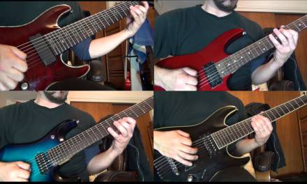 Beethoven's 9th Symphony, 2nd movement (electric guitar)
