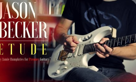 Playing an Etude in the style of Jason Becker (by Jamie Humphries)