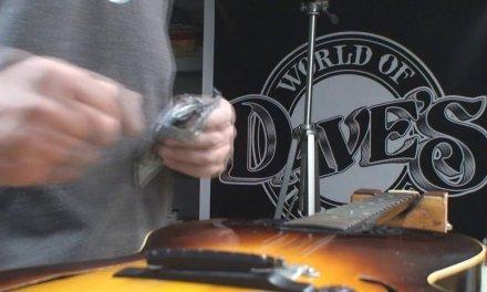 Vintage Gibson ES150 Guitar Gets Repaired